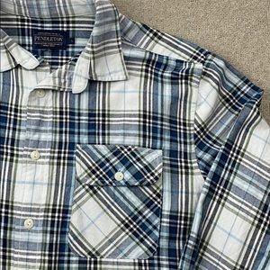 Pendleton Unisex brushed cotton buttondown flannel
